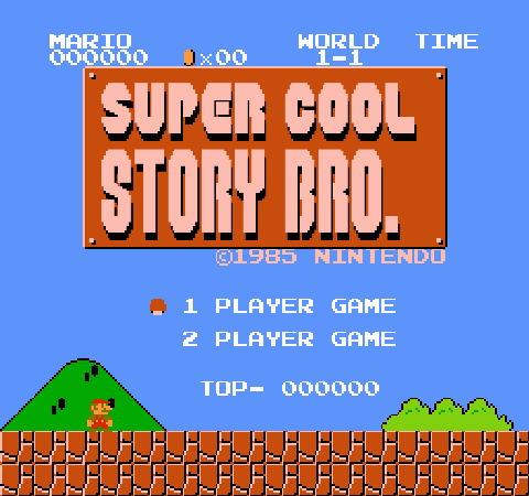 Super cool story indeed, man.