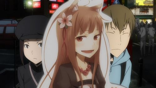 """Holo makes a """"guest appearance"""""""